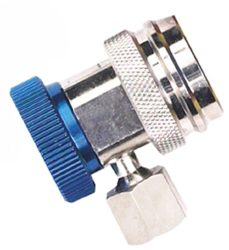 Robinair (18190A) R-134a Low Side Service Coupler with Blue (Blue Low Side Service Port)