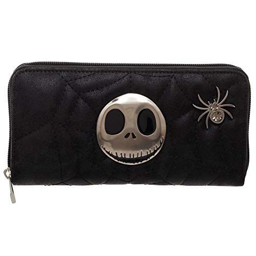Jack Metal Badge Zip Around Wallet