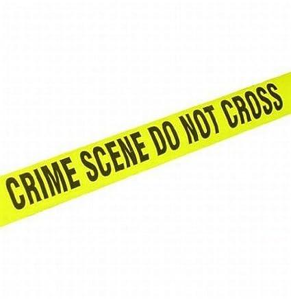 amazon com 200 long crime scene plastic barricade tape great for