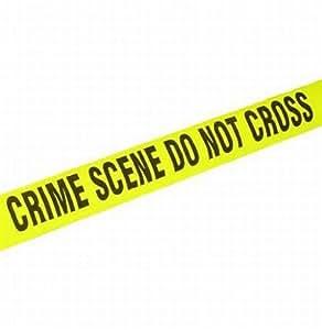 200' Long Crime Scene Plastic BARRICADE TAPE. Great for Halloween