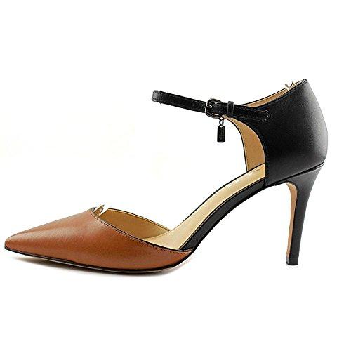 Coach Frauen Pumps Saddle/Black Matte Calf/Matte Calf