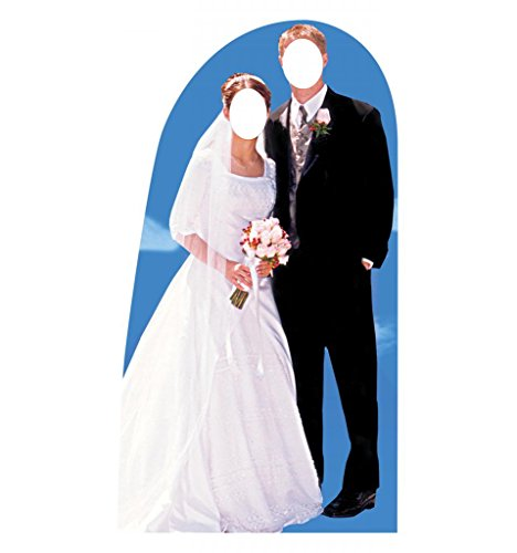 Groom Stand (Bride & Groom Stand-In - Advanced Graphics Life Size Cardboard Standup)