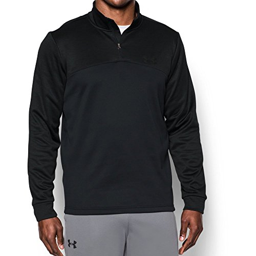 Under Armour Men's Storm Armour Fleece 1/4 Zip, Black/Black, X-Large