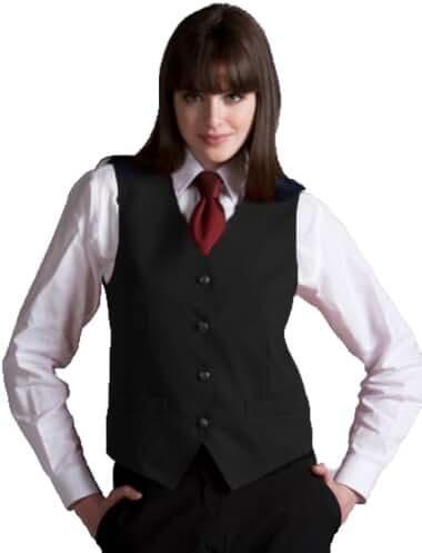 Edwards Garment Women's Fully Lined V-Neck  Economy Vest