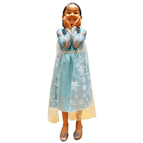 Princess Elsa Frozen Princess Dress -