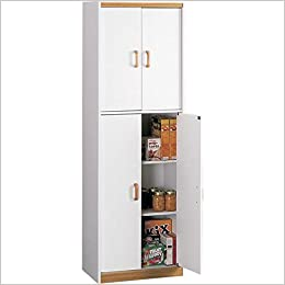 Deluxe 72 Inch Kitchen Pantry Cabinet 72 H X 24 W X 14 75 D Amazon Com Books