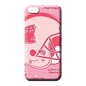 diy zhengiphone 5/5s Classic shell Shockproof series phone case skin carolina panthers nfl football