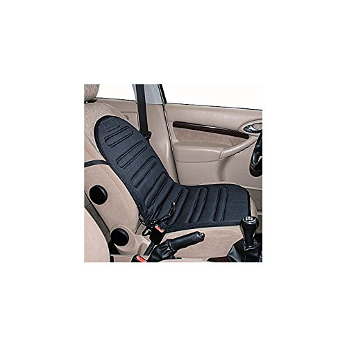 Relaxdays Chauffage de Siè ge, Confort avec dosseret –  Comfort Siè ge Chauffant 12 V Confort avec dosseret-Comfort Siège Chauffant 12V Relaxdays Automotive