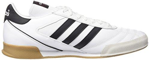 adidas Kaiser 5 Goal, Botas de Fútbol para Hombre Blanco / Negro (Runbla / Negro)