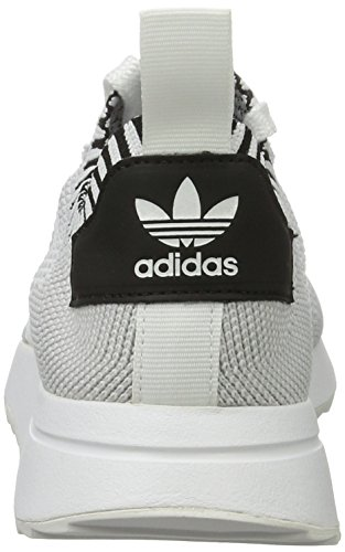 adidas Bianco Scarpe Clear White Ftwr Donna Black Core Running Primeknit Flashback Grey HwHBqgZ7