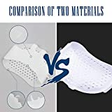 vuUUuv 4 Pcs-Breathable Silicone Foot Pad