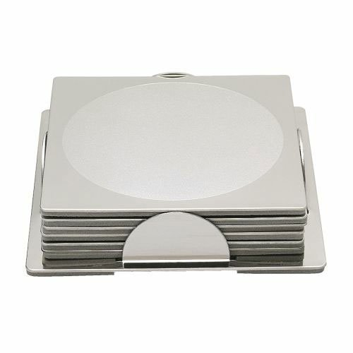Stainless Steel Coaster 600 176 15 Silver product image
