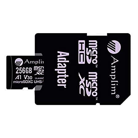 Amazon.com: Amplim 256GB Micro SD Card Plus SD Adapter. 256 ...
