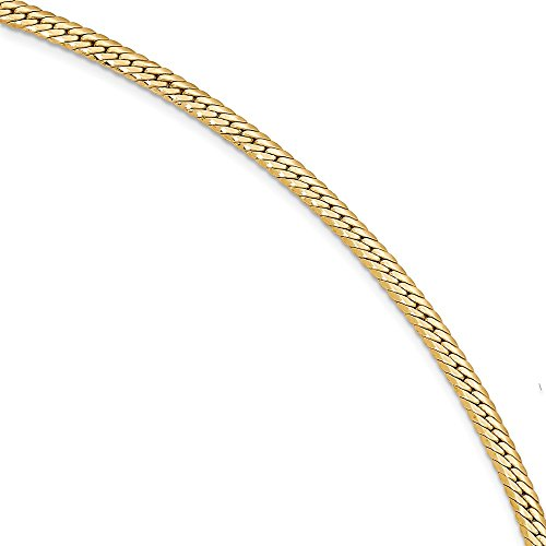 Diamond2Deal Solid 14k Yellow Gold Fancy Link Bracelet for Women 7.5inch from Diamond2Deal