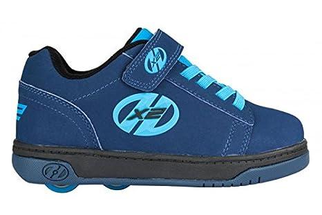Heelys - Zapatillas con Ruedas Dobles, Color Color Azul Marina: Amazon.es: Deportes y aire libre