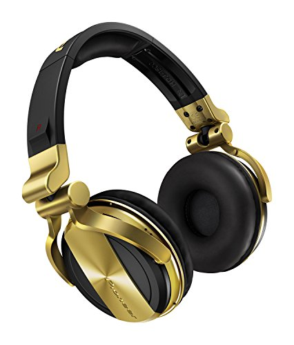 Pioneer Pro DJ HDJ-1500-N DJ Headphone, Gold
