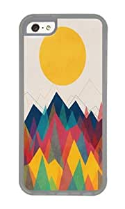 Apple Iphone 5C Case,WENJORS Uncommon Uphill Battle Soft Case Protective Shell Cell Phone Cover For Apple Iphone 5C - TPU Transparent by icecream design