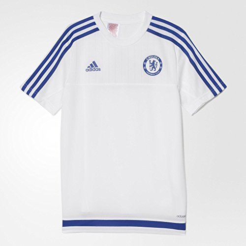Adidas Chelsea FC Training Youth Jersey-WHITE (M) (Youth Jersey Oscar Soccer)