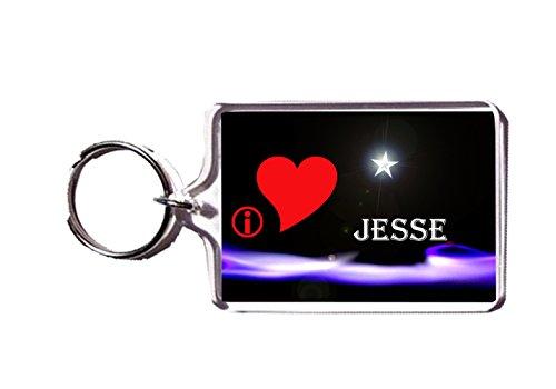 I HEART JESSE KEYRING KEYCHAIN