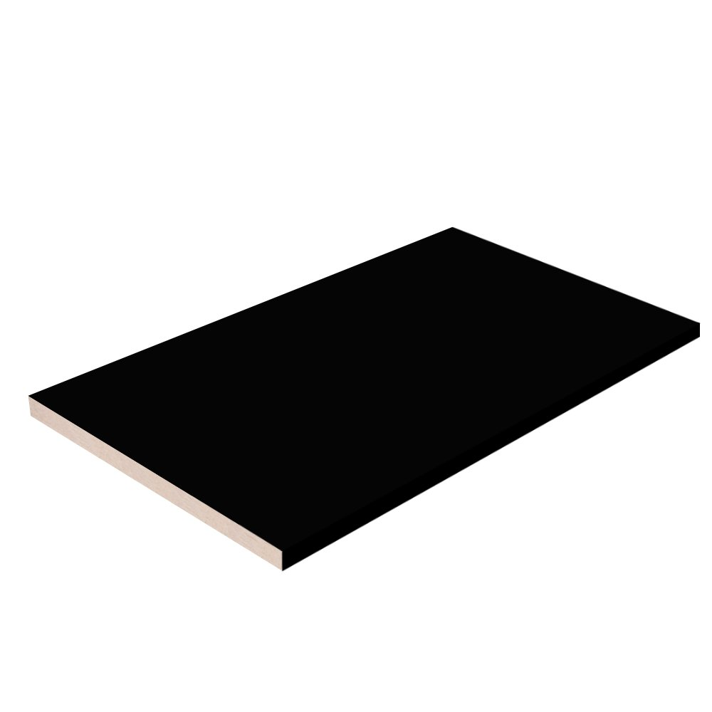 Black Closet Shelves Melamine - Choose Your Accurate Size (1/4, 1/2, 3/4) by TFKitchen