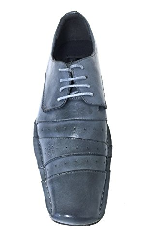 Fashion Italian Lace Pleated Shoes Blue Mens Tapered Black Blue Dress Toe Casual up Burgundy Oxfords Style T04xBHwq