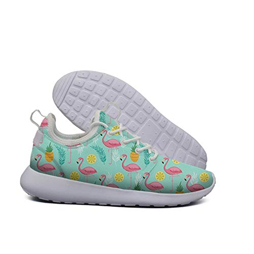 Shoes Womens Graphic Running And Pineapples Walking Pineapple Shoes Shoe AKDJDS Flamingo Printed B8SR0wxaq
