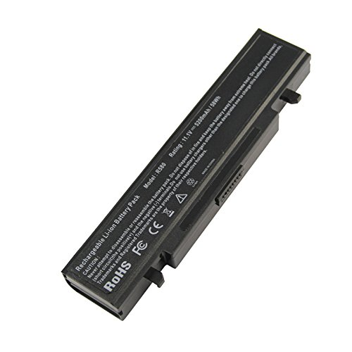 Futurebatt Laptop 6Cell 5200mAh Battery for Samsung AA-PB9NC6B AA-PB9NC5B AA-PB9NC6W AA-PB9NC6W/E