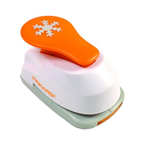 Fiskars Small Lever Punch, Snowflake