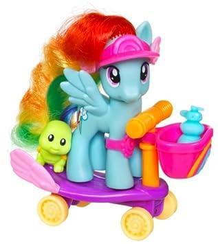 Amazon.es: My Little Pony Hasbro Mini vehículos Rainbow Dash ...
