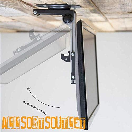 Soporte de Techo Universal con bisagras para televisores de 17 a ...