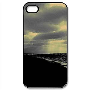 Unknown Unown Watercolor style Cover iPhone 4 and 4S Case (Beach Watercolor style Cover iPhone 4 and 4S Case)
