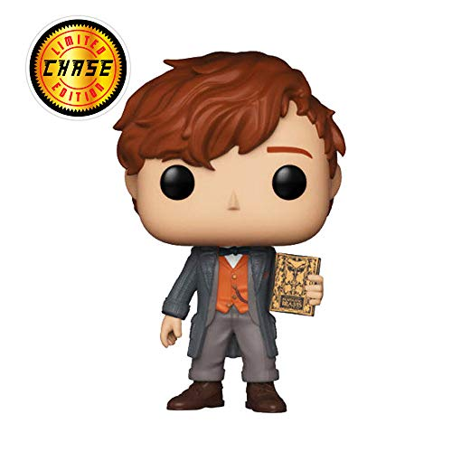 Funko Chase Figura de Vinilo Newt Scamander The Crimes of Grindelwald Fantastic Beasts (32751)