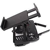 Owill RC Quadcopter FPV Tablet Extension Bracket Mount 360° Rotation Holder for DJI Mavic Air/Pro (Black)