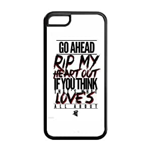 AMAF ? Accessories Custom Design 5 Seconds of Summer 5sos protection Cover Case For iPhone 5c [ 5 sos ] hjbrhga1544