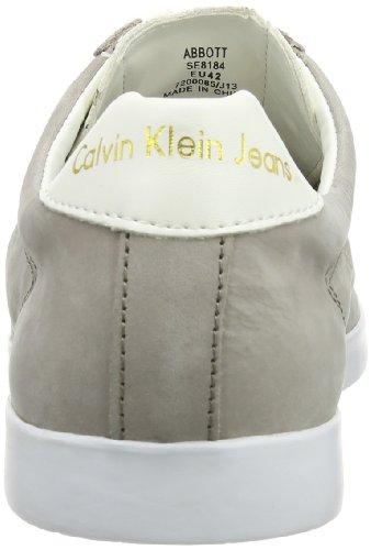 Abbott Klein Indoor skw Calvin Smooth Nubuck Scarpe Uomo Washed Sportive Jeans Grigio UEaqdZw