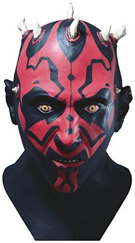 - Deluxe Darth Maul Latex Mask Costume Accessory