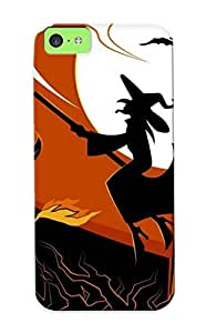 Charlesvenegas Iphone 5c Well-designed Hard Case Cover Halloween Protector For New Year's Gift