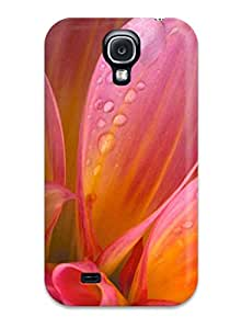 New Style Perfect Tpu Case For Galaxy S4/ Anti-scratch Protector Case (flower)