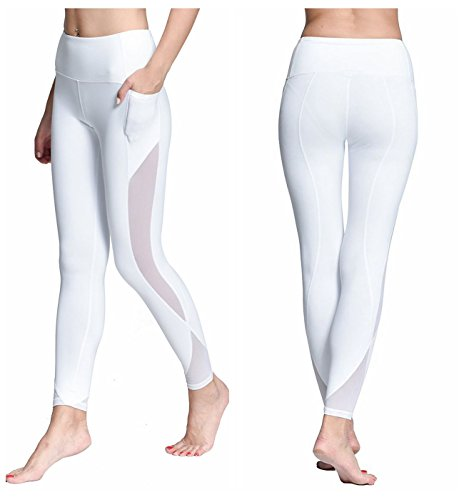 Chikool Women Leggings Workout Pocket