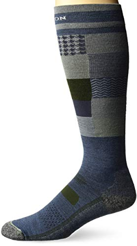 - Burton Men's Performance Ultralight Sock, Patchwork, Large