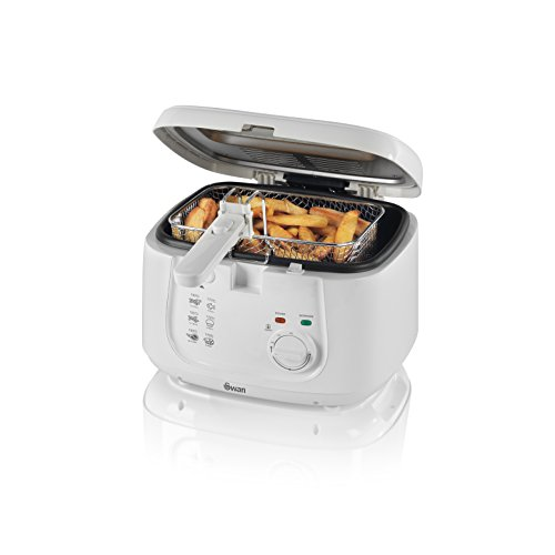 Swan SD6080N Deep Fat Fryer with Viewing Window, Easy Clean, 2.5 Litre,...