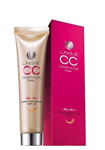 Lakme CC Complexion Care Cream All In One Instant Skin Stylist SPF 20 Beige 30 ml (Pack of 2) by Lakme