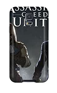 Shock-dirt Proof Assassins Creed Unity Case Cover For Galaxy S5