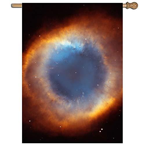 vdefbfs Helix Nebula Seasonal Garden Flag, single-sided, Pol