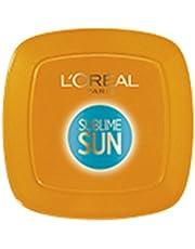 L'Oréal Paris Protezione Solare Abbronzante Sublime Sun Protect & Sublime, Protezione Alta IP30 per Viso e Décolleté, Formula Compatta in Polvere, 9 g