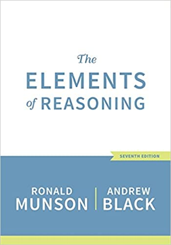 The Elements of Reasoning (MindTap Course List)