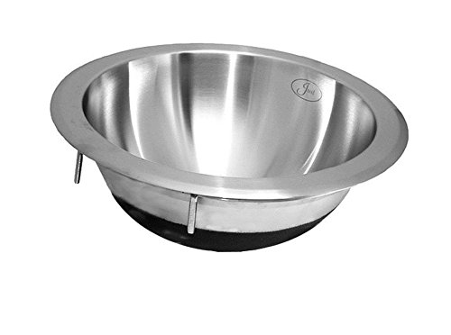 Just UCIR-12 Single Bowl 18-Gauge T-304 Commercial Grade Stainless Steel Undermount Sink