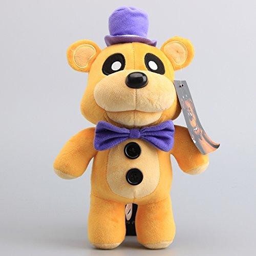 y's Fazbear Bear Golden 12 Inch Toddler Stuffed Plush Kids Toys FNAF ()