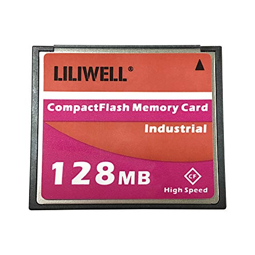 LILIWELL Original 128 MB CompactFlash Card Industrial High Speed Digital Camera CNC Memory Card 128M ()