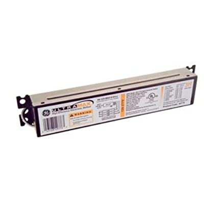 GE Lighting 72266 GE232MAX-N/ULTRA 120/277-Volt UltraMax Electronic Fluorescent T8 Multi-Volt Instant Start Ballast 2 or 1 F32T8 Lamps